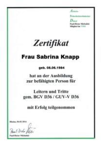 Leitern und Tritte S. Knapp