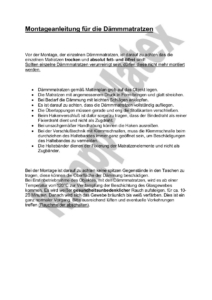 Montageanleitung Deutsch