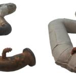 Rohrleitung Handvernäht